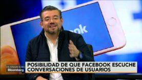 Facebook estuviera escuchando las conversaciones de usuarios para mejorar su publicidad.