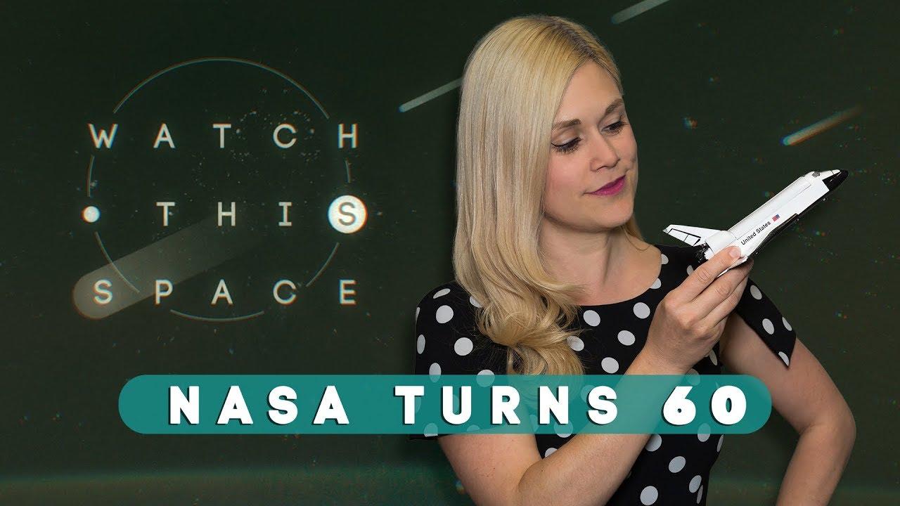 ¡NASA cumple 60 años! (y no tiene planes de retirarse).