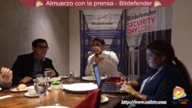 Reunión de Bitdefender con la Prensa Peruana.