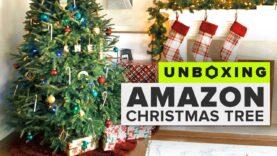Mira cómo Amazon envía un árbol de Navidad.