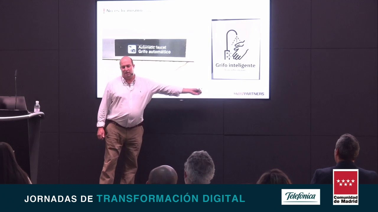 Jornadas de Transformación digital Big Data e Inteligencia Artificial.