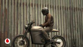 La moto clásica del futuro es eléctrica.
