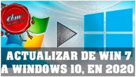 Como actualizar de Windows7 a Windows 10