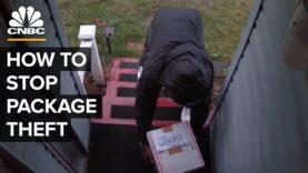 Cómo Amazon intenta detener el robo de paquetes