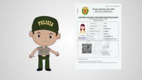 Cómo obtener su Certificado de Antecedentes Policiales (Perú) por Internet