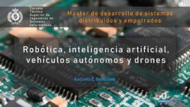 Conference: Robótica, inteligencia artificial, vehículos autónomos y drones