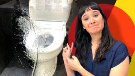 Este nuevo asiento de inodoro limpia tu trasero a la velocidad del rayo