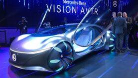 Los autos del futuro en el CES 2020