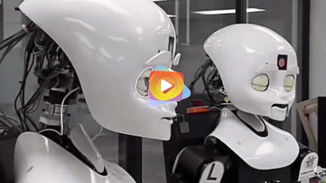 robot in