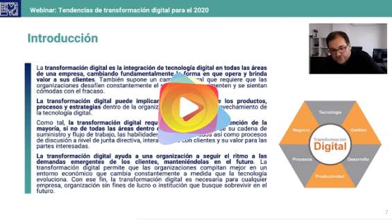 Tendencias de transformación digital para el 2020
