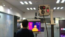 Cámara termográfica china ayuda a prevención de contagios de COVID-19 en México