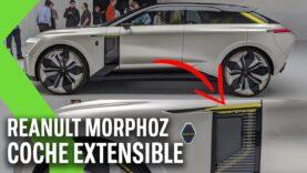 El coche eléctrico transformer que se estira