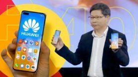 Huawei presenta P40, P40 Pro y Pro Plus
