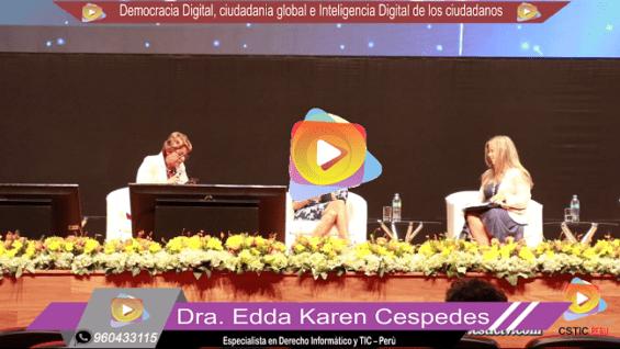 Panel: Democracia Digital, ciudadania global e Inteligencia Digital de los ciudadanos