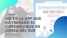 Una aplicación para móviles Android que ha frenado el coronavirus en Corea del Sur