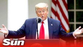 Donald Trump realiza investigaciones y buscará reparaciones de China por la Covid-19