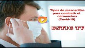Tipos de mascarillas que existen en el mercado para combatir el coronavirus (Covid-19)