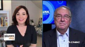 CEO de Novavax en la fase uno de la compañía Australia Covid-19 prueba de vacuna