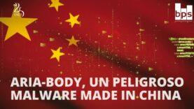 China utiliza un Malware llamado ARIA-BODY para espionaje