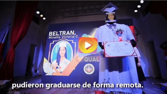 Se realizó la graduación remota por Covid-19