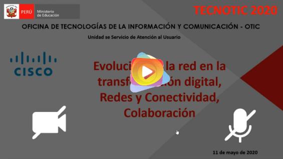 Evolución de la red en la transformación digital