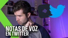 Ahora en Twitter se puede dejar notas de Voz