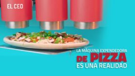 La máquina expendedora de pizza todo una realidad