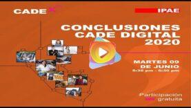 Las Conclusiones del CADE digital 2020