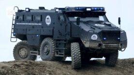 Vehículos Blindados Policiales más Sorprendentes del Mundo