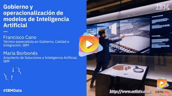 Videoconferencia: Gobierno y operacionalización de modelos de Inteligencia Artificial