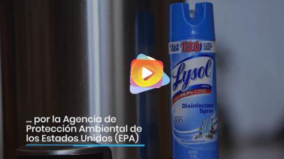 La Agencia de Protección Ambiental de los Estados Unidos aprobó dos productos eficaces contra el COVID-19