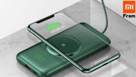 Banco de energía (Cargador) inalámbrico Xiaomi.