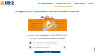 bono electrecidad
