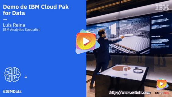 Demo de IBM Cloud Pak for Data
