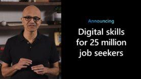El CEO de Microsoft, anuncia una iniciativa para ayudar a quienes buscan trabajo en la economía de Covid-19