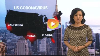 Estados Unidos supera los 3 millones de casos de COVID-19 en el mundo