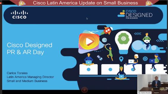 Presentacion del CISCO DESIGNED FOR BUSINESS para pequeñas y medianas empresas