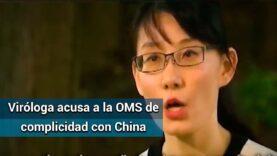 La viróloga china Li-Meng Yan dijo que su pais había mentido sobre el Covid-19