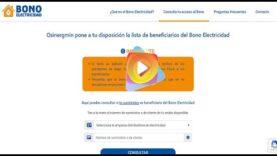 Perú: Consulta si eres beneficiario del Bono de Electricidad