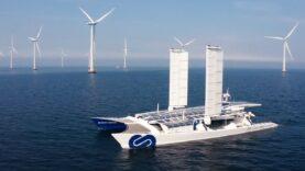Primer barco que produce su propio combustible de hidrógeno a partir del agua de mar