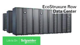 Centro de datos EcoStruxure Row para implementaciones rápidas y fáciles