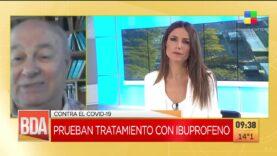 En Argentina prueban tratamiento con Ibuporfeno contra el COVID-19