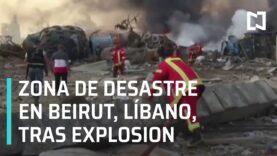 Libano: Nuevas imagenes de la Explosión en Beirut