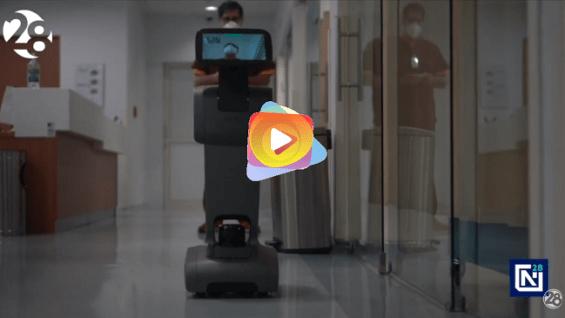Un nuevo robot que se suma a la lucha contra el Covid-19
