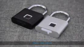 Candado inteligente Desbloqueo rápido con huella digital