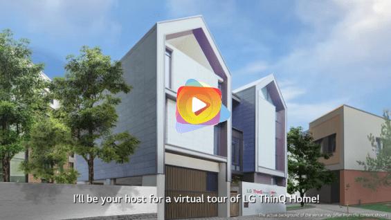 LG en IFA 2020 – LG ThinQ Home Tour