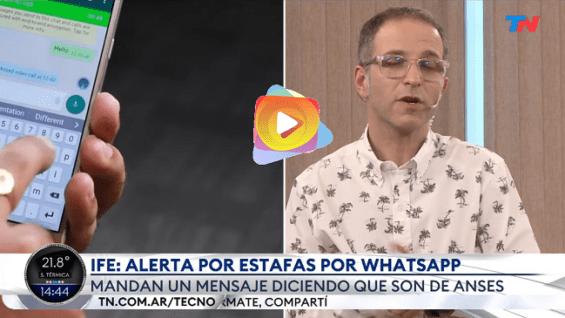 Cuidado con las estafas por Whatsapp para robar datos bancarios