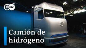 Daimler presenta su camión con una autonomía de unos 1.000 kilómetros