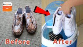 Gadget: Lavadora y secadora portátil de zapatillas de 4,5 kg