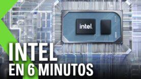 Intel contra AMD: Intel Core 11ª Generación, GPU Intel Iris Xe